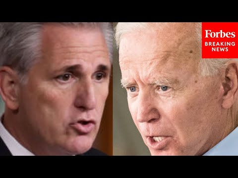 Kevin McCarthy blames President Biden for surge of migrants at the southern border