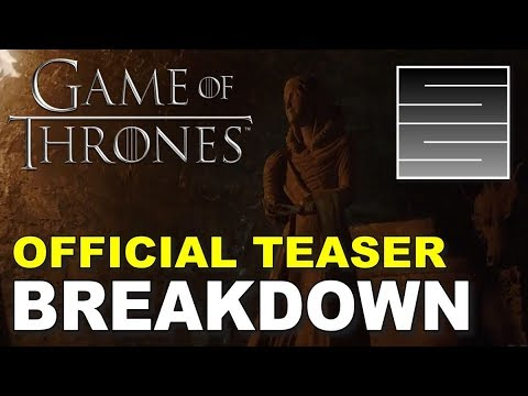 Game of Thrones Season 8 Official Tease Crypts of Winterfell Breakdown