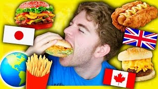 TASTING FAST FOOD FROM AROUND THE WORLD