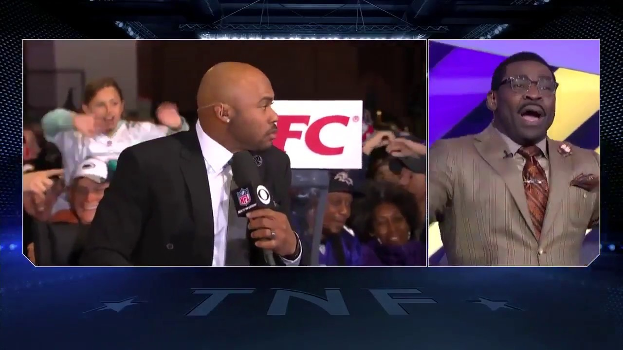 ee8b01b6 NFL Network's Steve Smith and Michael Irvin have heated exchange ...