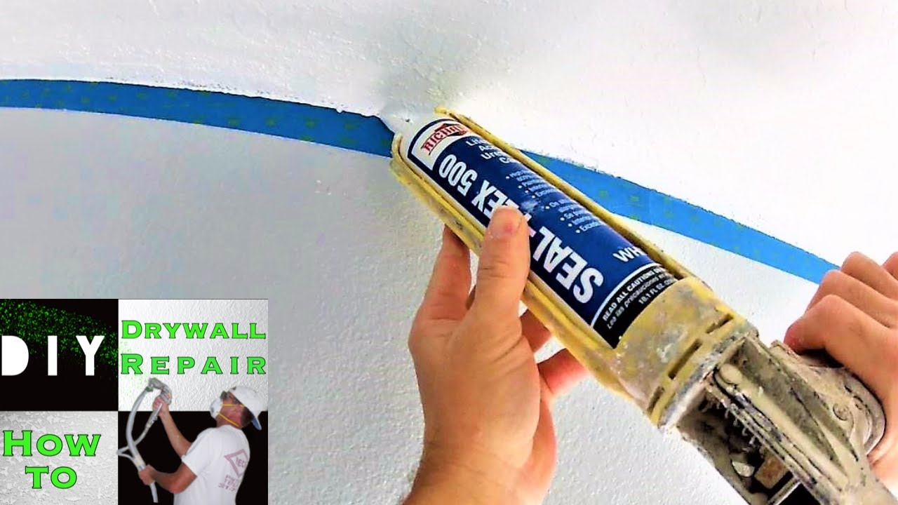 How to create a straight cut line on a textured ceiling Pro