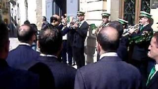 President of Malta Dr  George Abela visits Zabbar on Sunday 28 th February 2010   video by Malcolm Schembri Zabbar Malta   Visiting Ghaqda Madonna tal Grazzja Banda San Mikiel Part 3