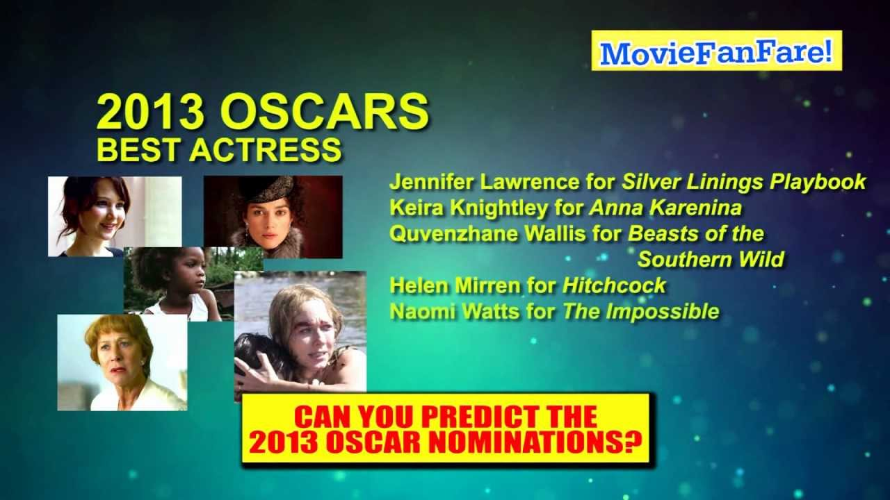 List of oscar nominated movies 2013 wiki : Giant map of