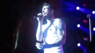 Maroon 5 Misery into Get Lucky, Jones Beach Aug 2013