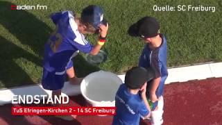 SC Freiburg gewinnt Testspiel bei TuS Efringen-Kirchen