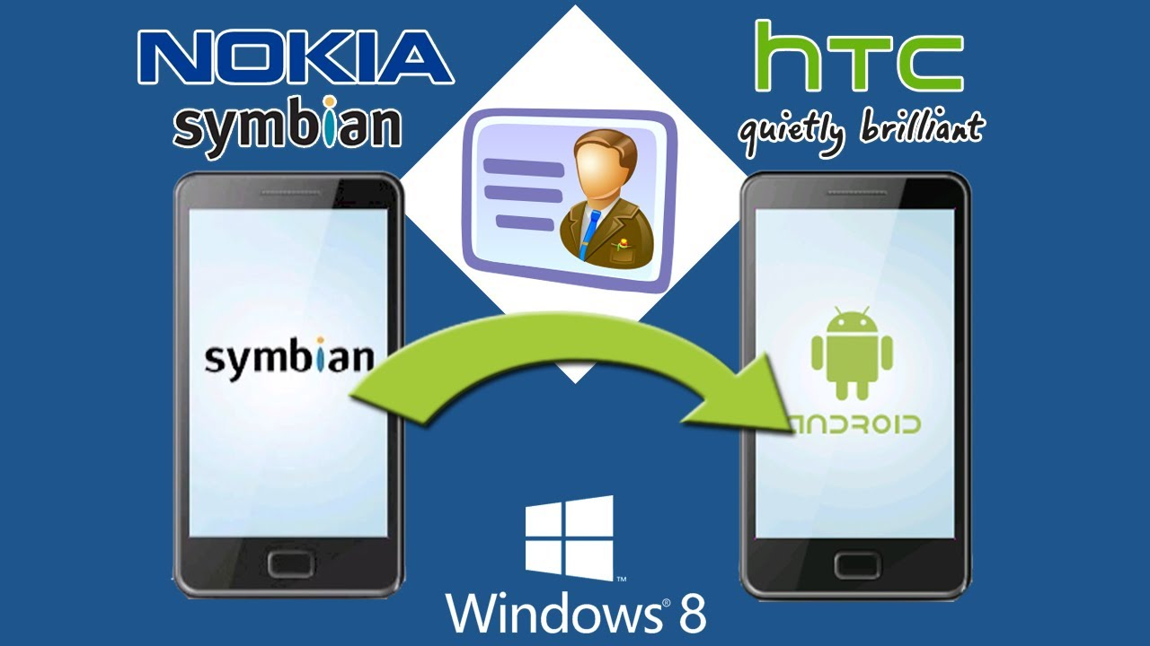 Nokia to HTC Transfer: How to Copy Contacts from Nokia to ...