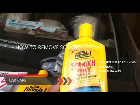 HOW TO REMOVE SCRATCH | How To Fix Car Scratches Yourself