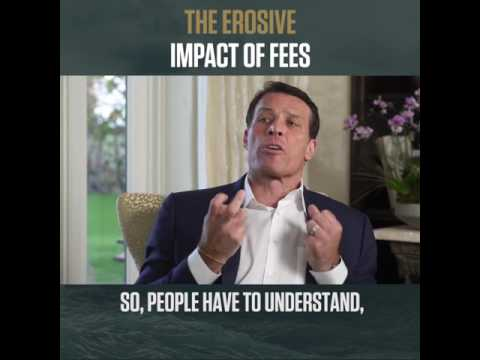 Tony Robbins - Do you know how much you are paying? #UNSHAKEABLE