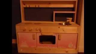 ままごとキッチンを作ってみた