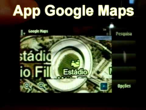 Nokia 5530 Review - App Google Maps