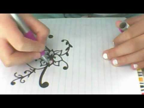 How to draw a easy simple and cute flower youtube mightylinksfo