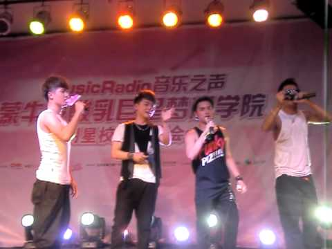 [120605] message for Steelo @ Music Radio School Tour Ningbo Stop (FanCam01)