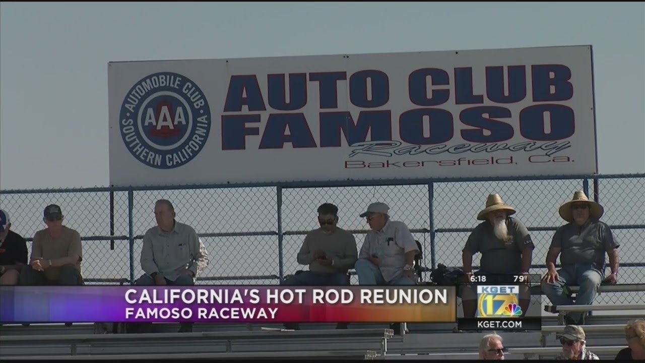 California's Hot Rod Reunion this weekend at Famoso Racewy