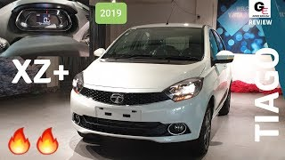 2019 Tata Tiago XZ Plus | all digital instrument console | updated model | detailed review !!
