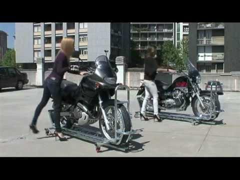 Robomot Motorcycle Parking System Youtube