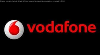 Teléfono Gratuito Vodafone