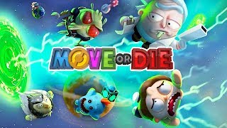 Move or Die Gameplay German #33 - Rick and Morty Edition