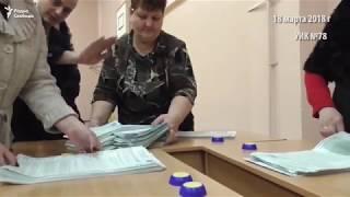 Стопка Путина. Как в Барнауле нашли у Путина голоса других кандидатов
