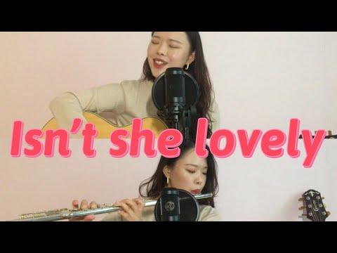 Isn't She Lovely-Stevie Wonder-cover By바라보라_bora