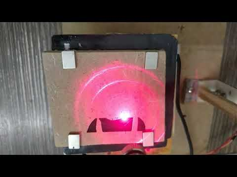 DIY Arduino CNC Laser Wood Engraver from DVD Drive