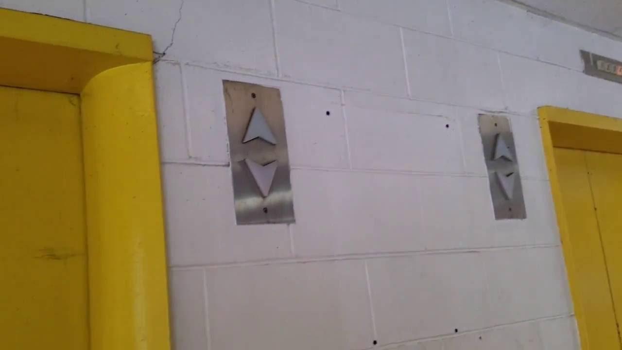 Civic Center Garage: Dover Hydraulic Elevators @ Civic Center Parking Garage In