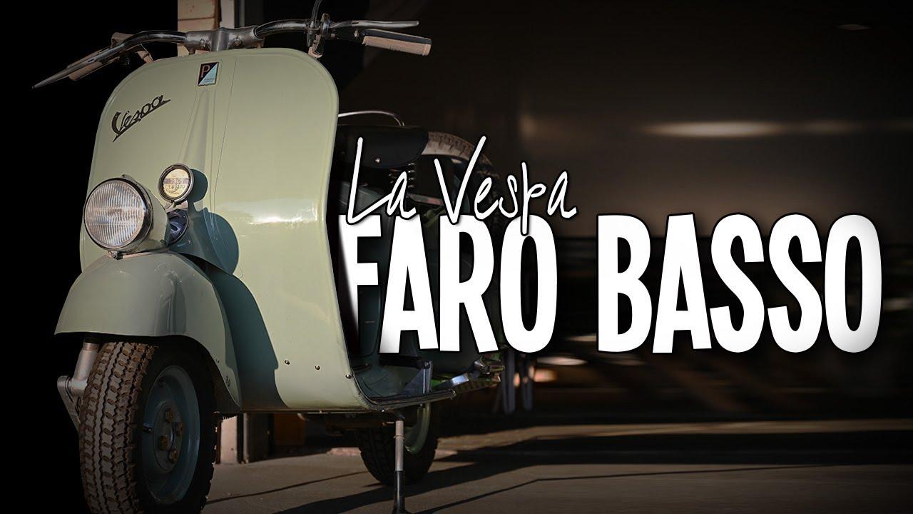 "Vespa Faro Basso / ans Licht / ""A real Beauty"""