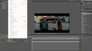 Adobe After Effects   вставка объектов в видео