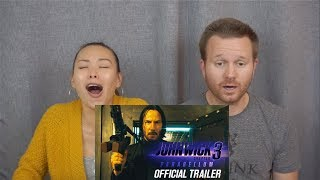 **NEW** John Wick: Chapter 3 - Parabellum Official Trailer | Reaction & Review