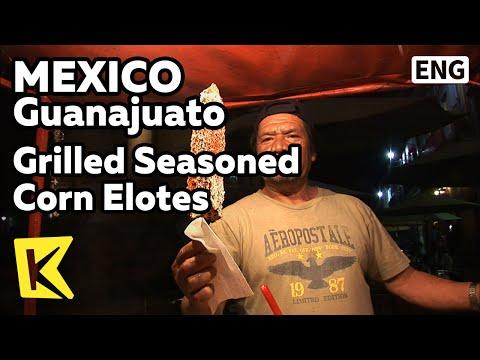 【k】mexico-travel-guanajuato[멕시코-여행-과나후아토]옥수수-양념-구이,-엘로떼/grilled-seasoned-corn-elotes/food