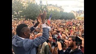 Troyes : une foule immense pour accueillir deux champions du monde thumbnail