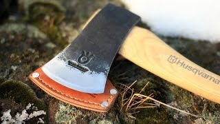 Husqvarna Hatchet Review 13 inch curved handle