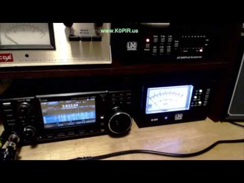 LDG AT 600ProII Autotuner M 600 Meter Setup With Short Review