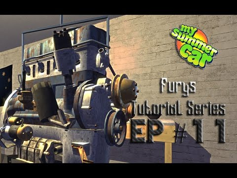 How To My Summer Car Oil Filter Distributor Alternator Ep 11