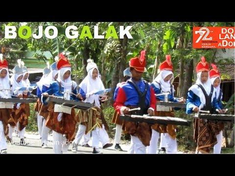 Drumband Bojo Galak Karnaval Kemerdekaan | SMP Penda Mojogedang