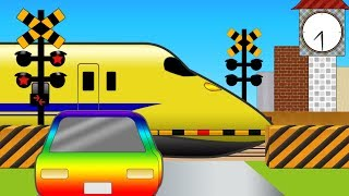 【いろんなでんしゃ】ふみきりの1しゅうかんOne week of railroad crossing #踏切アニメ thumbnail