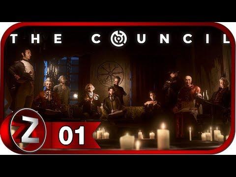 The Council Прохождение на русском #1 - Добро пожаловать [FullHD PC]