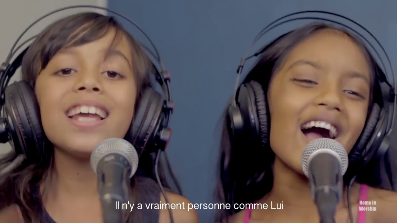 IL N'Y A PERSONNE COMME JÉSUS - Home in Worship kids avec Jemima &  Rushama