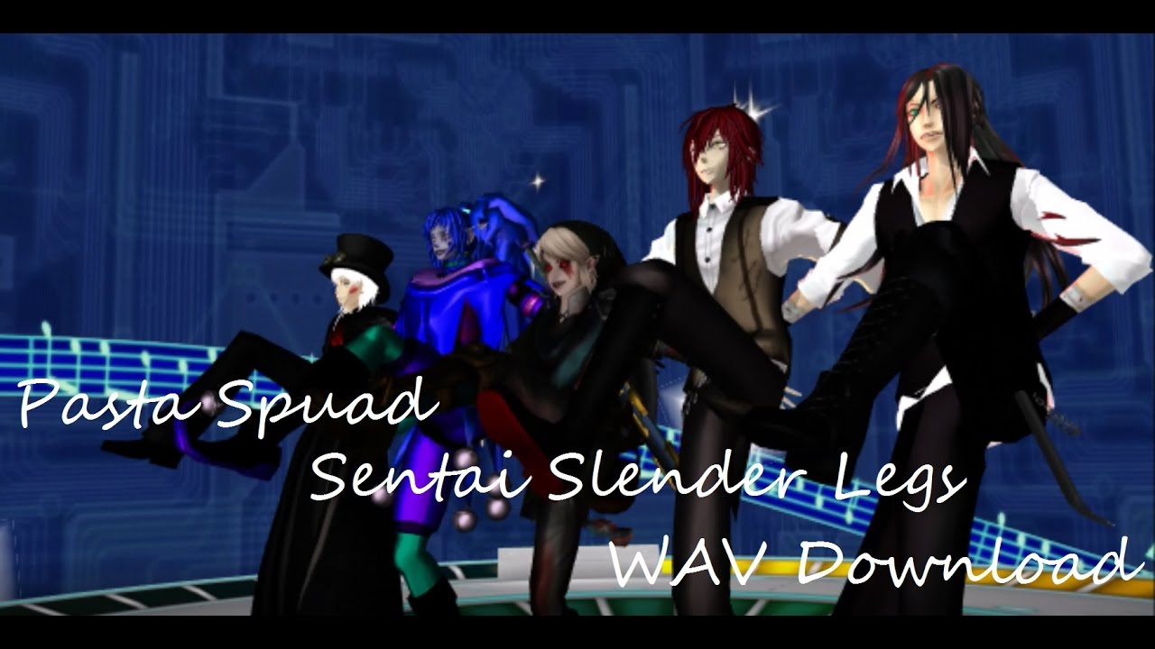 MMD Creepypasta Sentai Slender Legs (WAV DOWNLOAD)