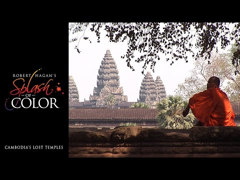 Splash Of Color - Cambodia's Lost Temples