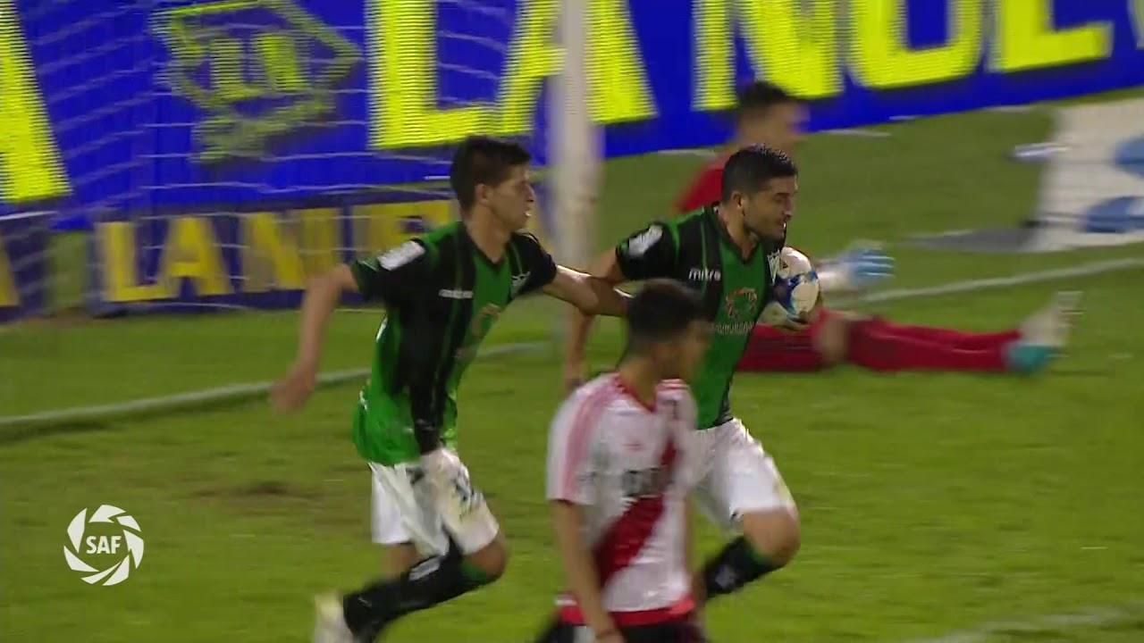 San Martin San Juan 1-3 River Plate