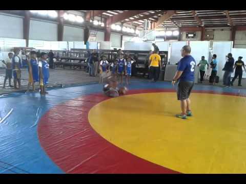 Koror Elementary School Wrestling PE Program with 5th & 6th grade students