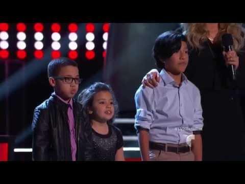 La Voz Kids | Jonael, Lea y Camilo cantan 'Nada de Esto Fue un Error' en La Voz Kids