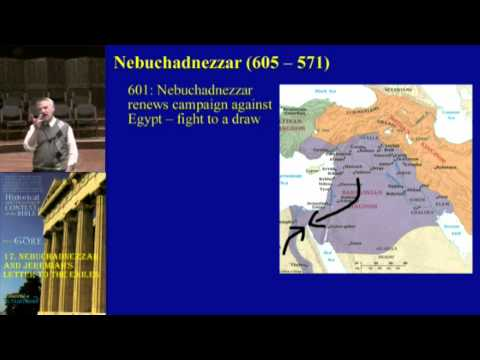 17. Nebuchadnezzar and Jeremiah's Letter to the Exiles