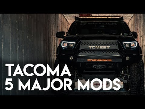 Toyota Tacoma 5 Major Mods Before Our Big Road Trip | Sneak Peek Prototype Tail Lights