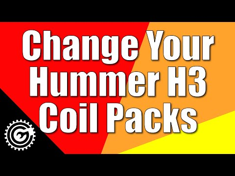 Change Your Hummer H3 Coil Packs (also Chevy Colorado & GMC Canyon). Super-easy Job!