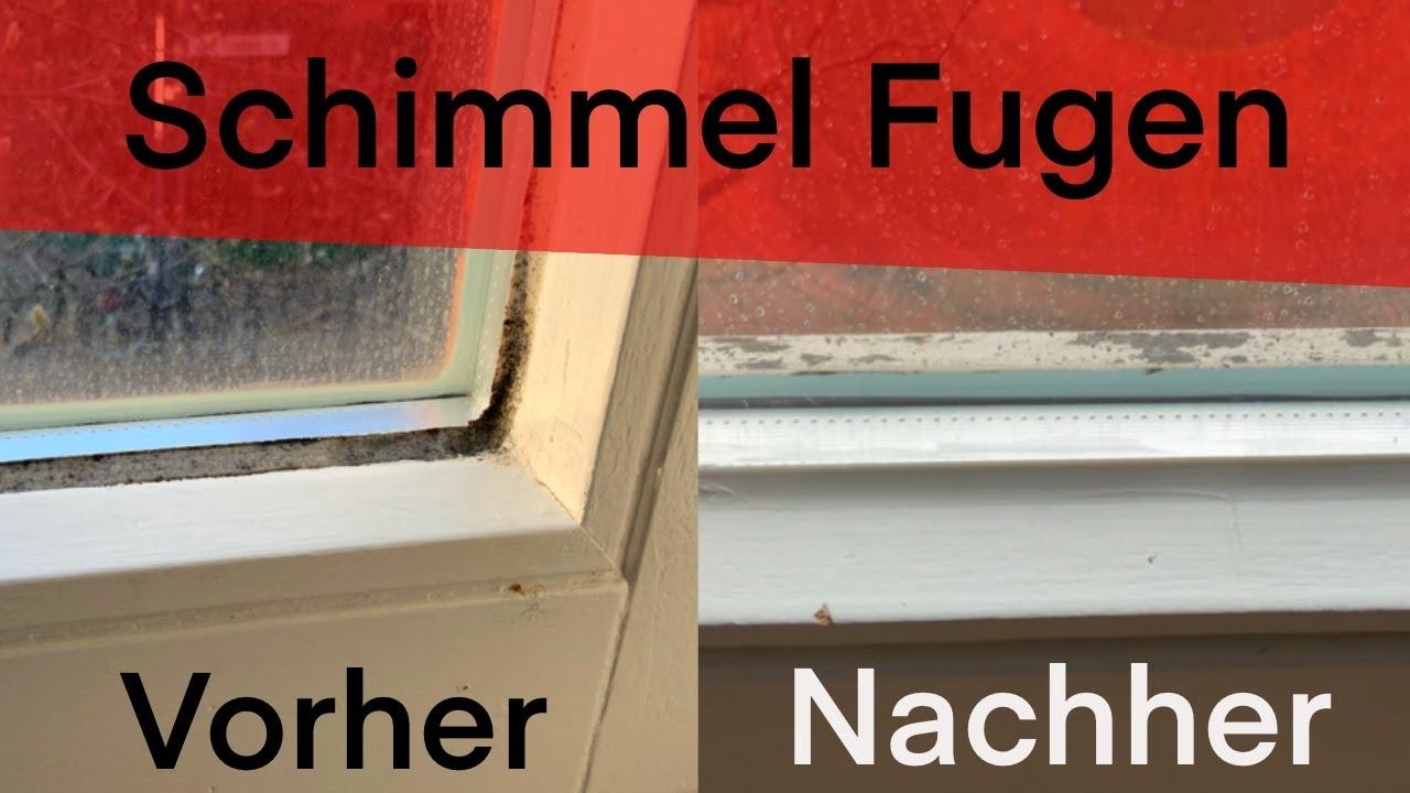 Schimmelige Silikon-Fugen Am Fenster Entfernen! Lifehack