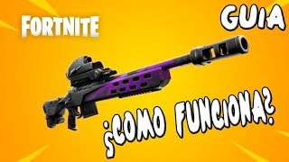 FORTNITE GUIDE ? HOW DOES THE NEW SNIPER WORK? MYTHS AND REALITY