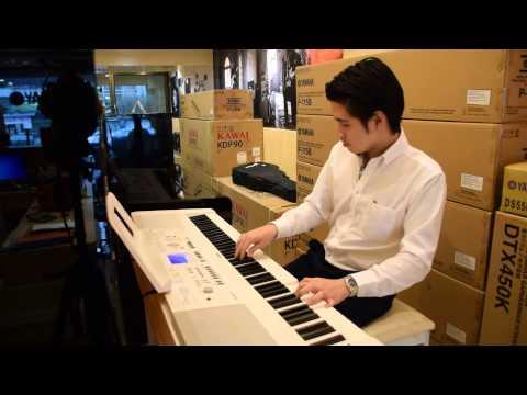 Kuljaesol : รีวิว เปียโนไฟฟ้า yamaha dgx650 กับจังหวะเพลงjazz bossa by ครูออฟ