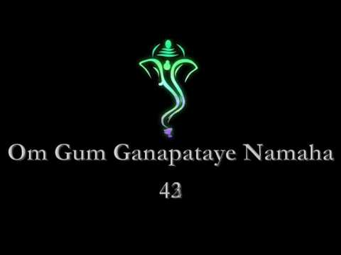 'Om Gum Ganapataye Namaha'   108 Mantra