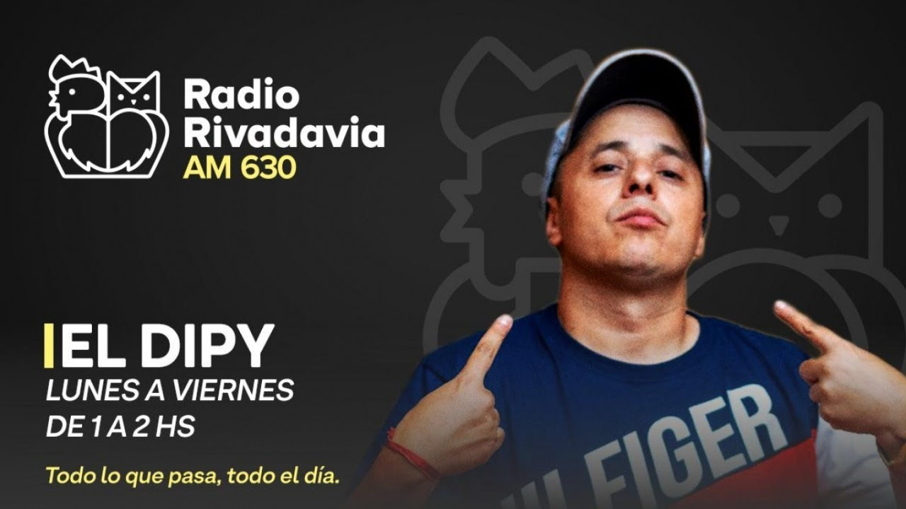 Los Desclasados Con El Dipy En Vivo 24 03 2021 Eldipy Radiorivadavia Am630 Youtube